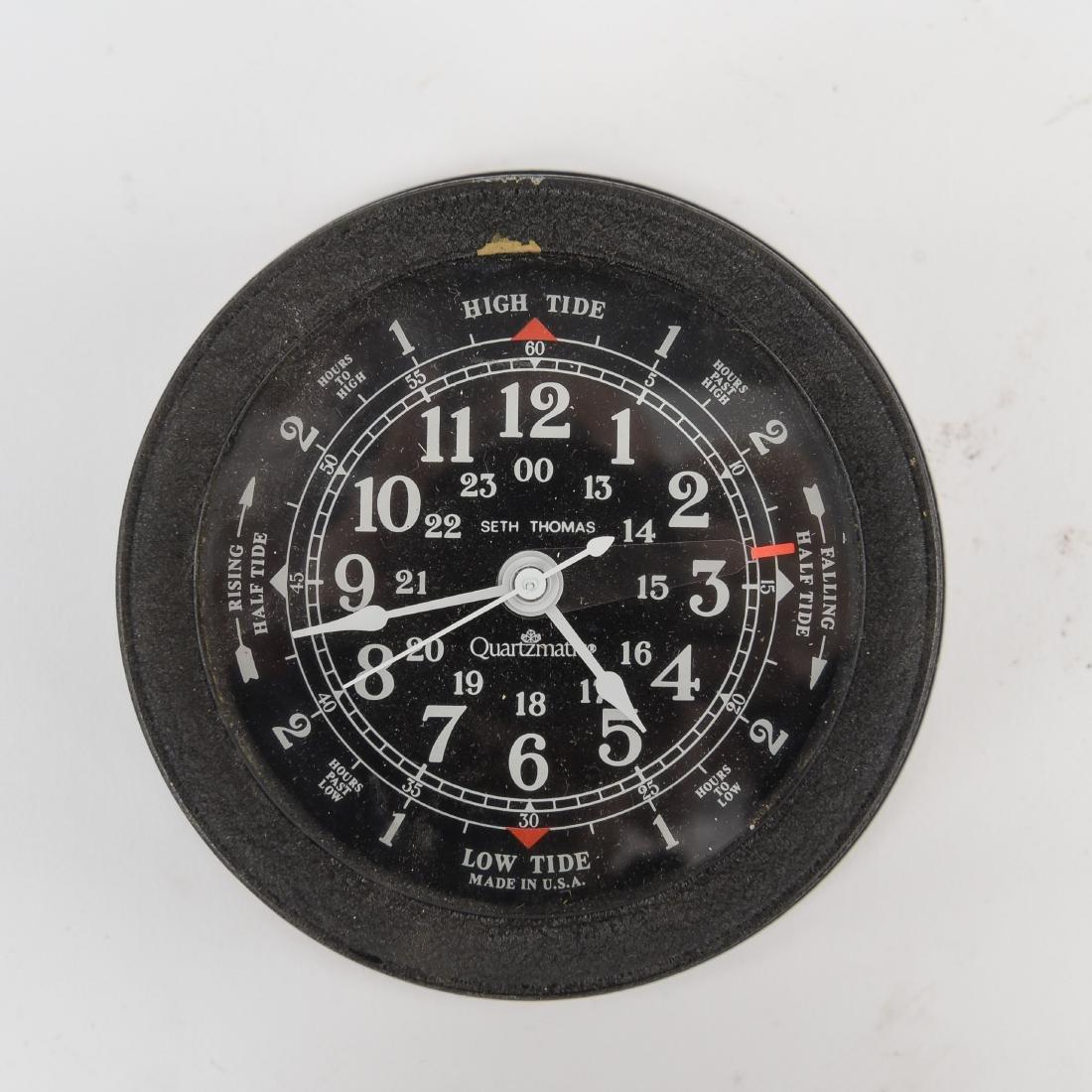 SETH THOMAS TIME/TIDE COMBINATION CLOCK