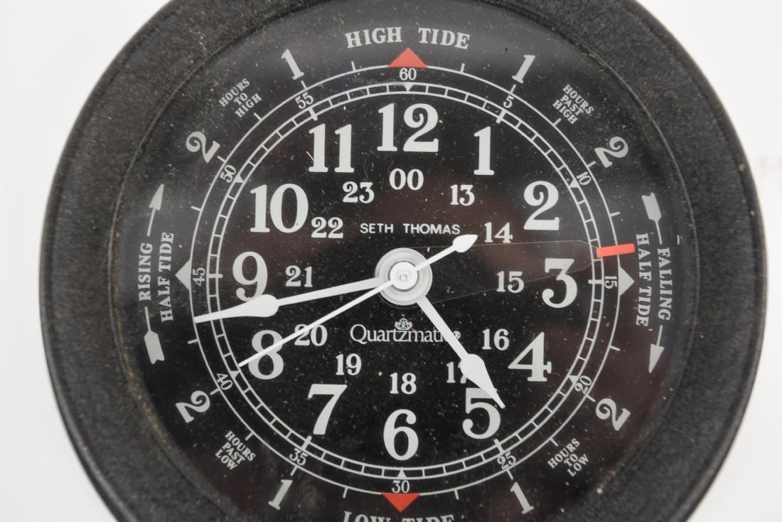 SETH THOMAS TIME/TIDE COMBINATION CLOCK - 2