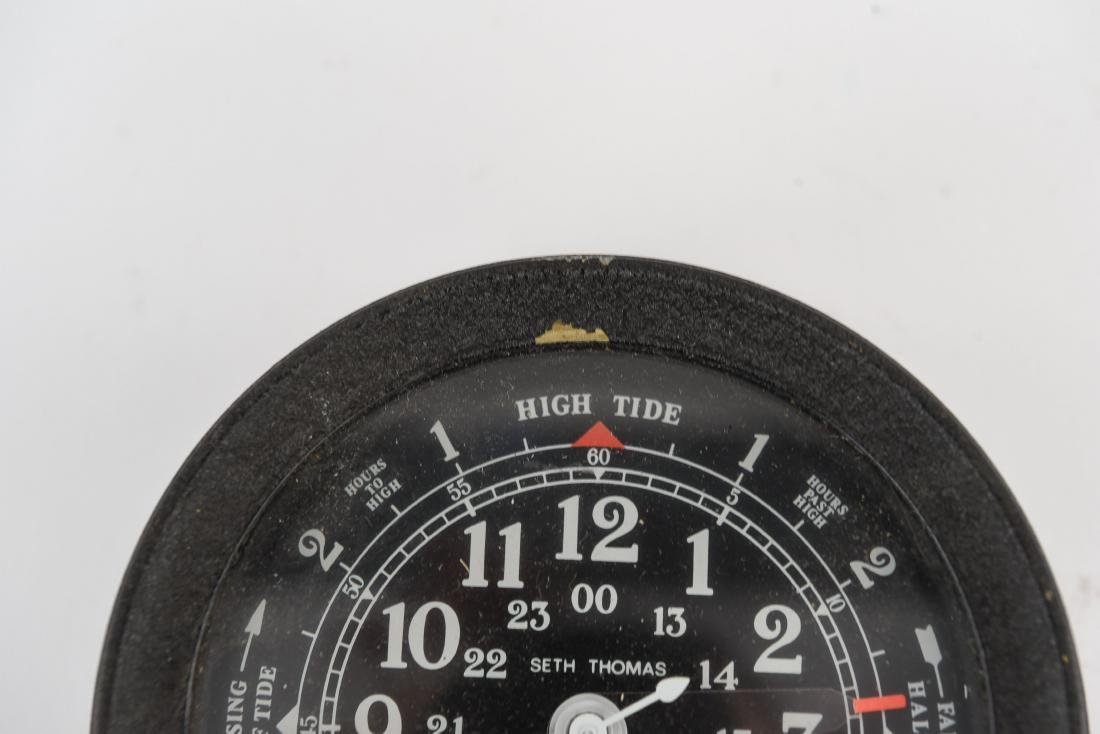 SETH THOMAS TIME/TIDE COMBINATION CLOCK - 3