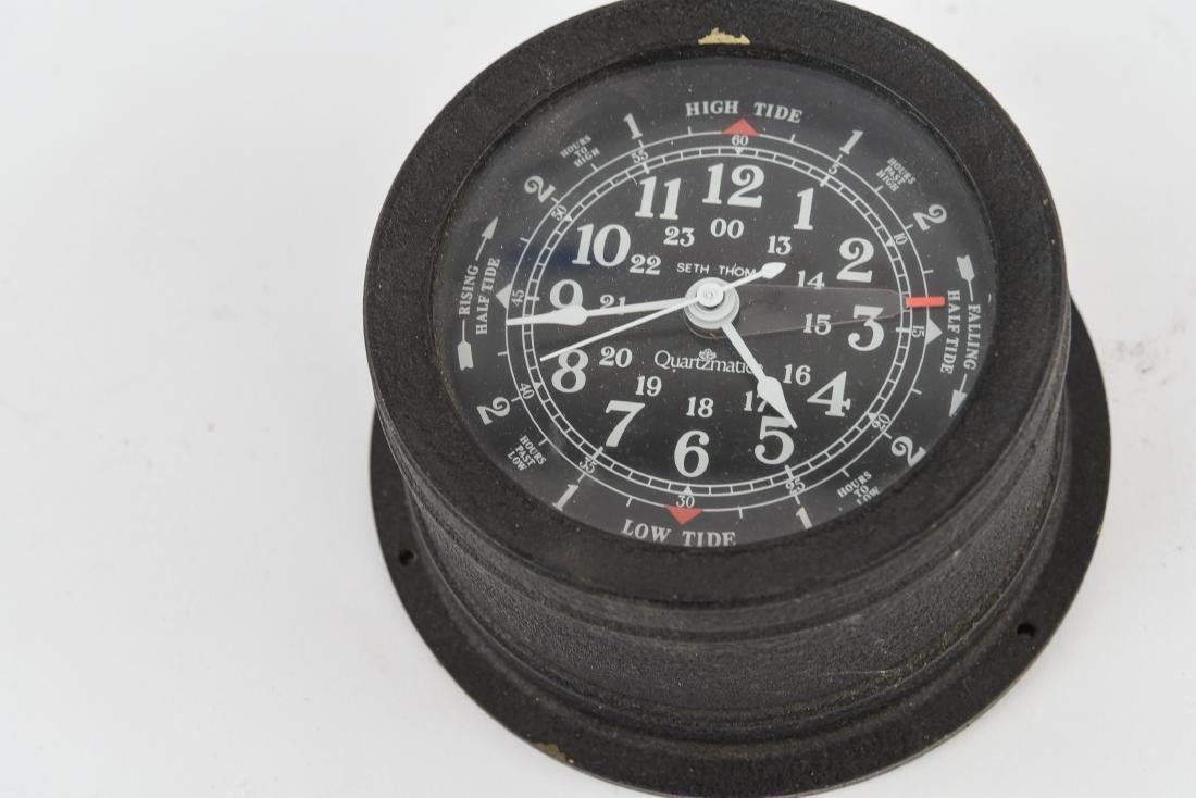 SETH THOMAS TIME/TIDE COMBINATION CLOCK - 5