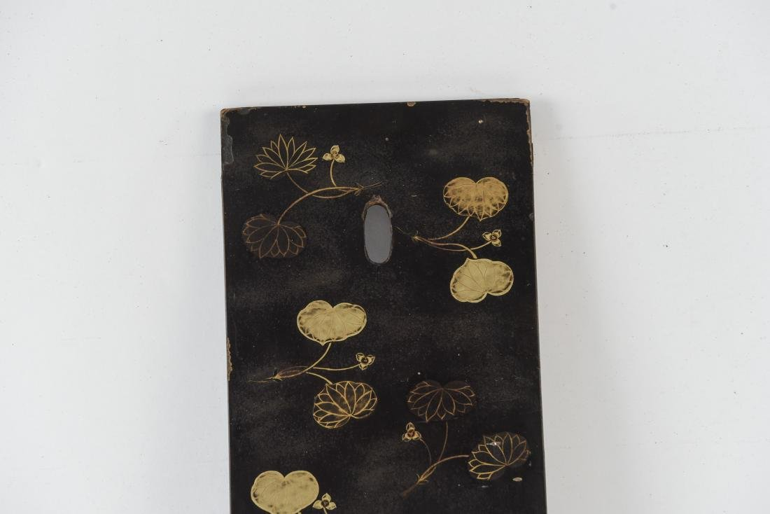 ASIAN GILT AND LACQUERED PANEL - 2
