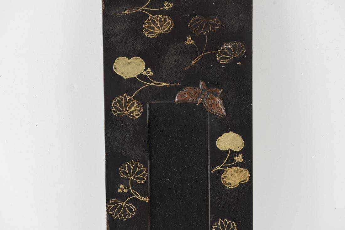 ASIAN GILT AND LACQUERED PANEL - 3