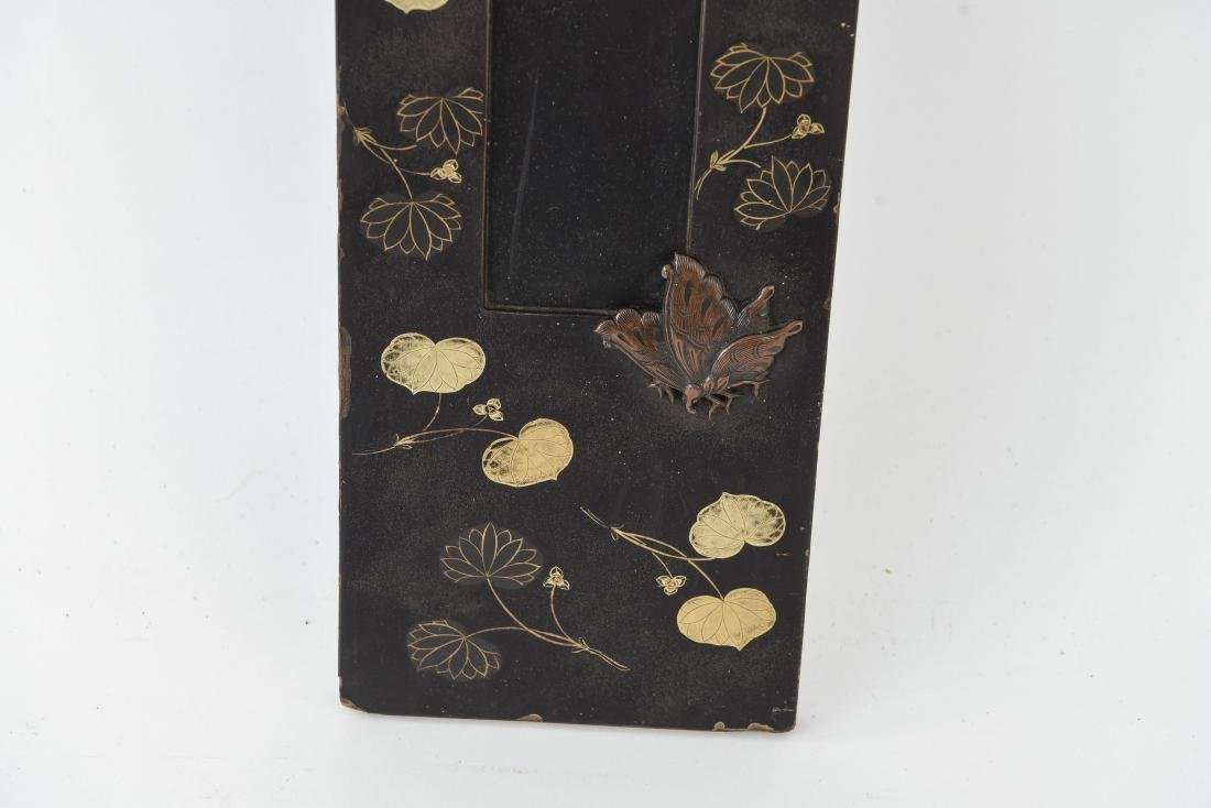 ASIAN GILT AND LACQUERED PANEL - 5