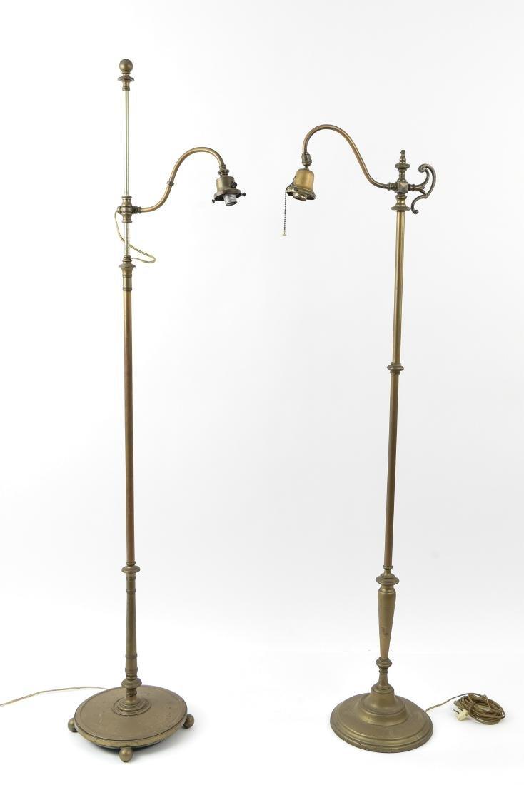 (2) ADJUSTABLE FLOOR LAMPS