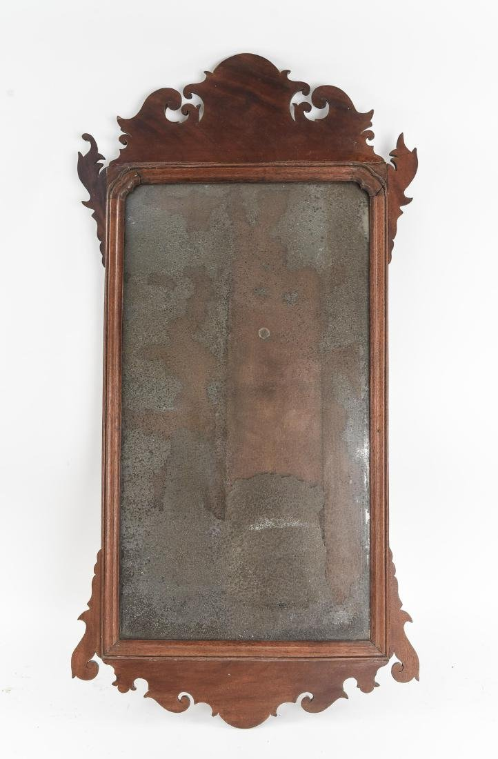 ANTIQUE CHIPPENDALE STYLE MIRROR