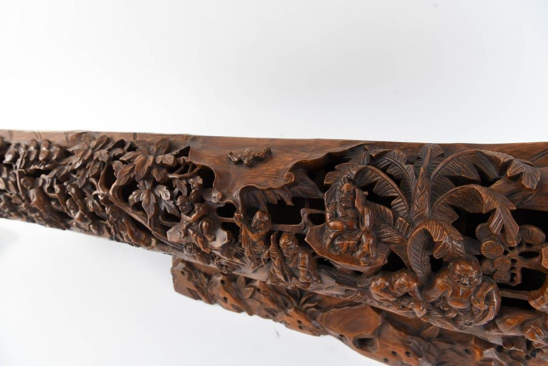 CHINESE BAMBOO CARVING - 10