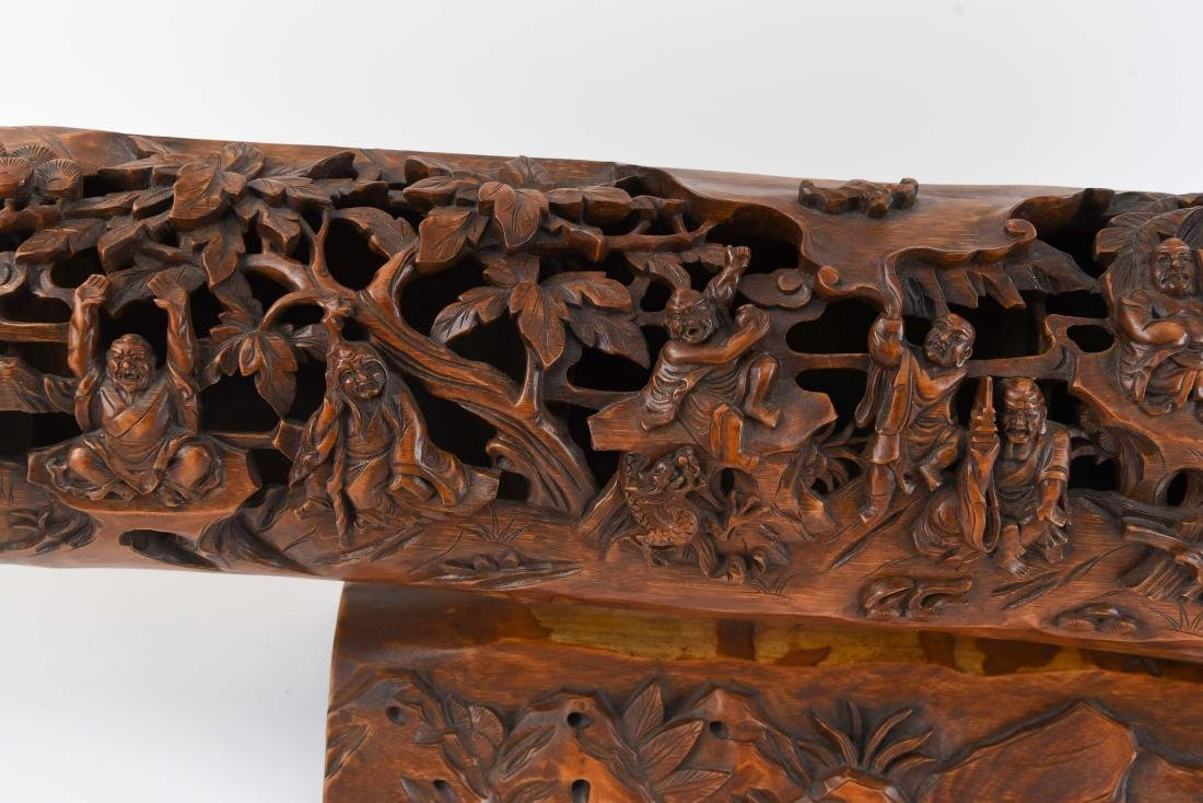 CHINESE BAMBOO CARVING - 3