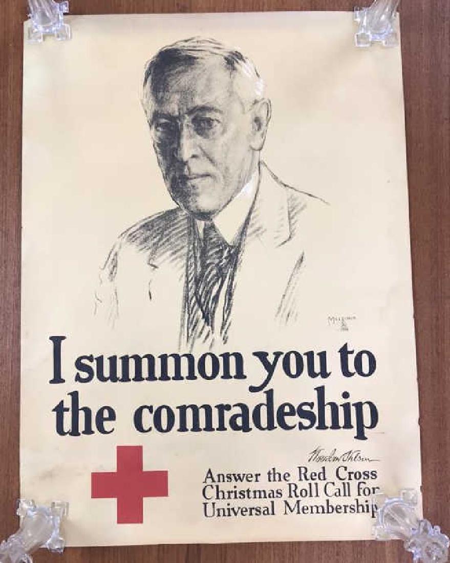 RED CROSS WORLD WAR I POSTER