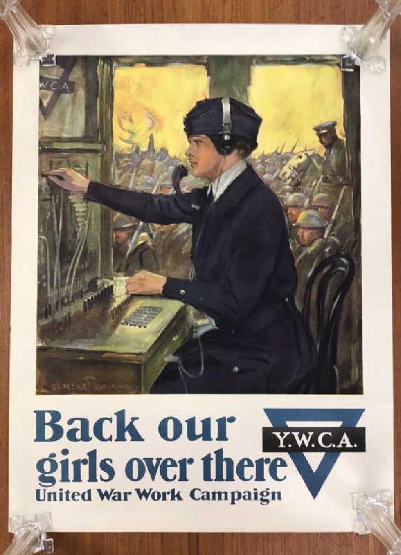 YWCA WORLD WAR I POSTER