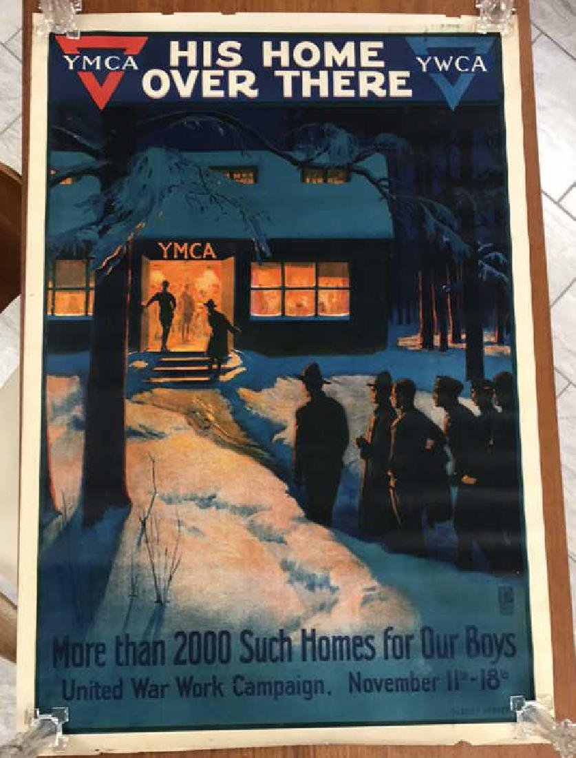 YMCA WORLD WAR I POSTER