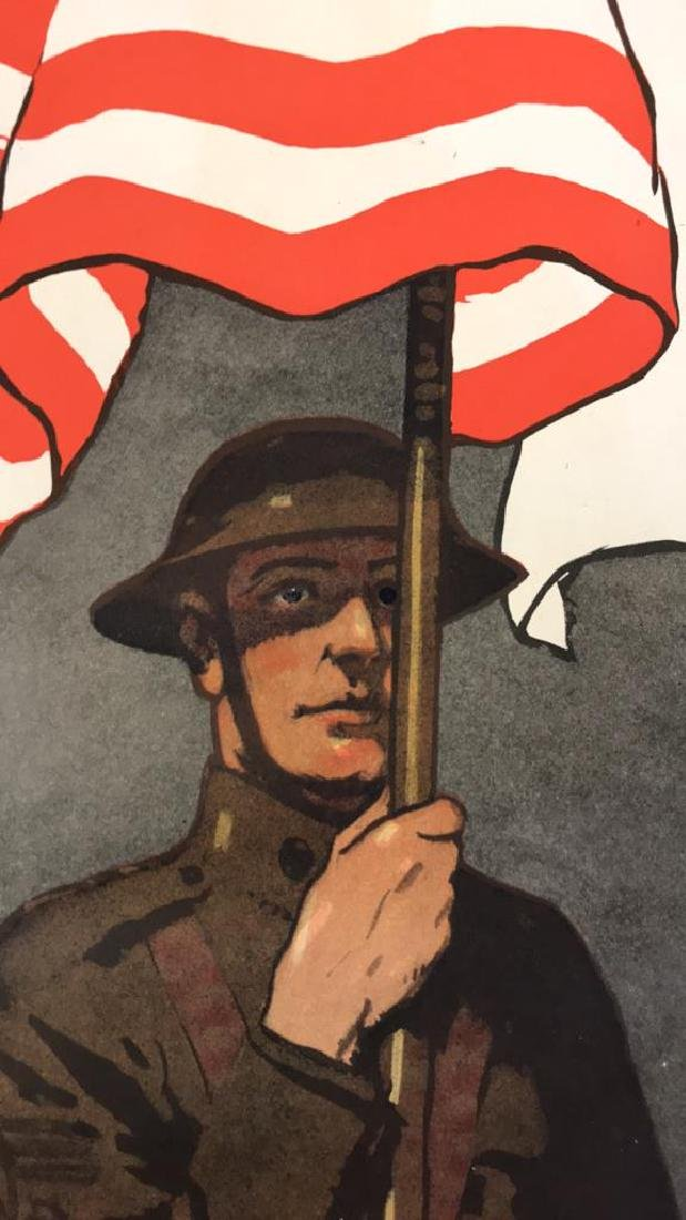 RED CROSS WORLD WAR I POSTER - 5