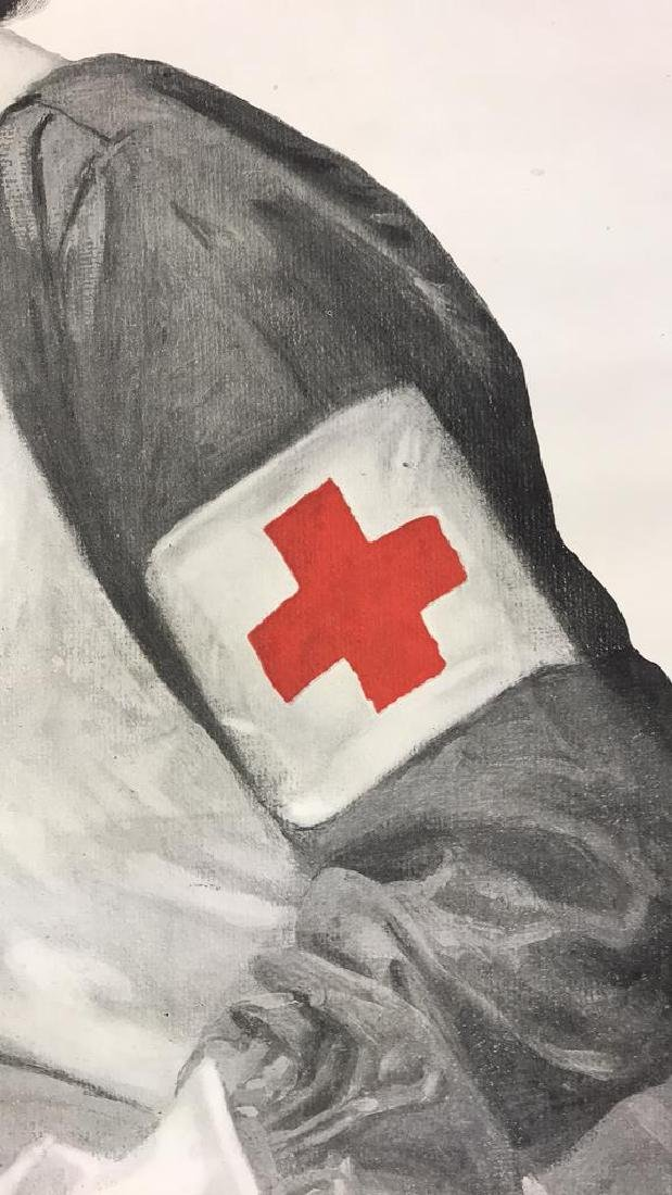RED CROSS WORLD WAR I POSTER - 5