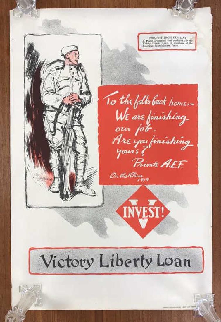 LIBERTY LOAN WORLD WAR I POSTER