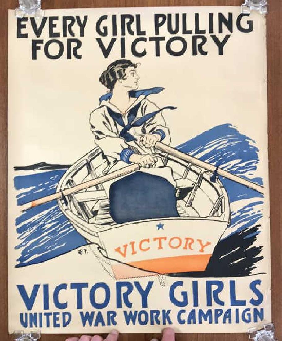 VICTORY GIRLS WORLD WAR I POSTER