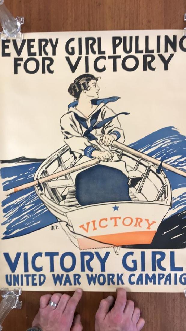 VICTORY GIRLS WORLD WAR I POSTER - 2