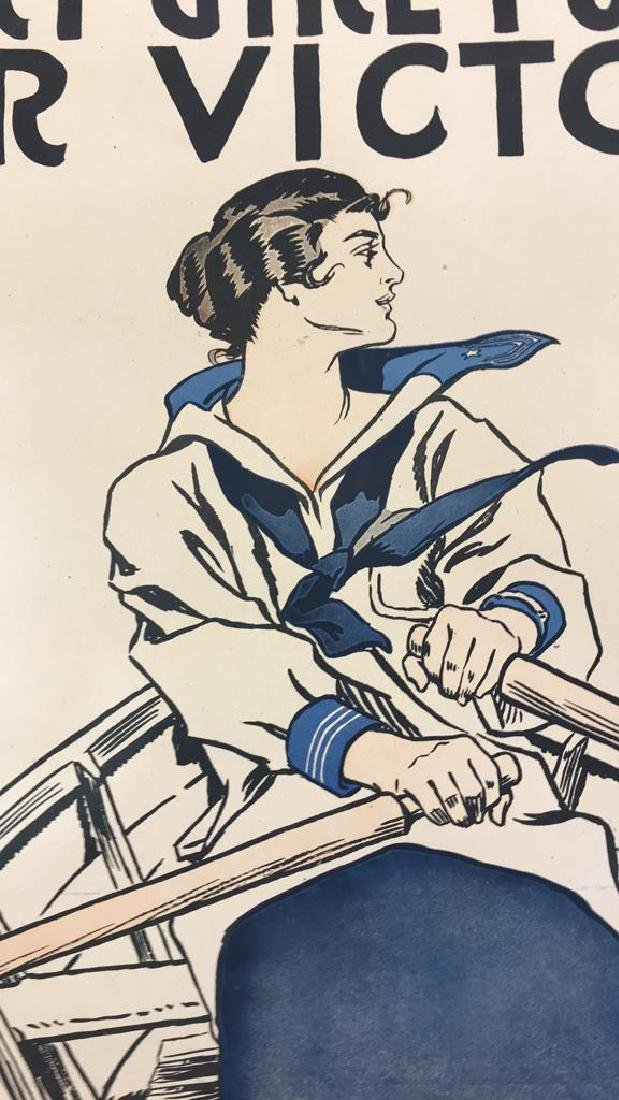 VICTORY GIRLS WORLD WAR I POSTER - 3