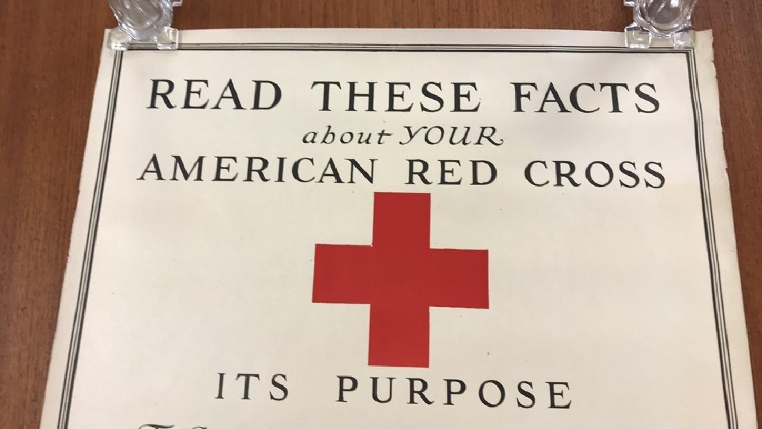 RED CROSS WORLD WAR I POSTER - 6