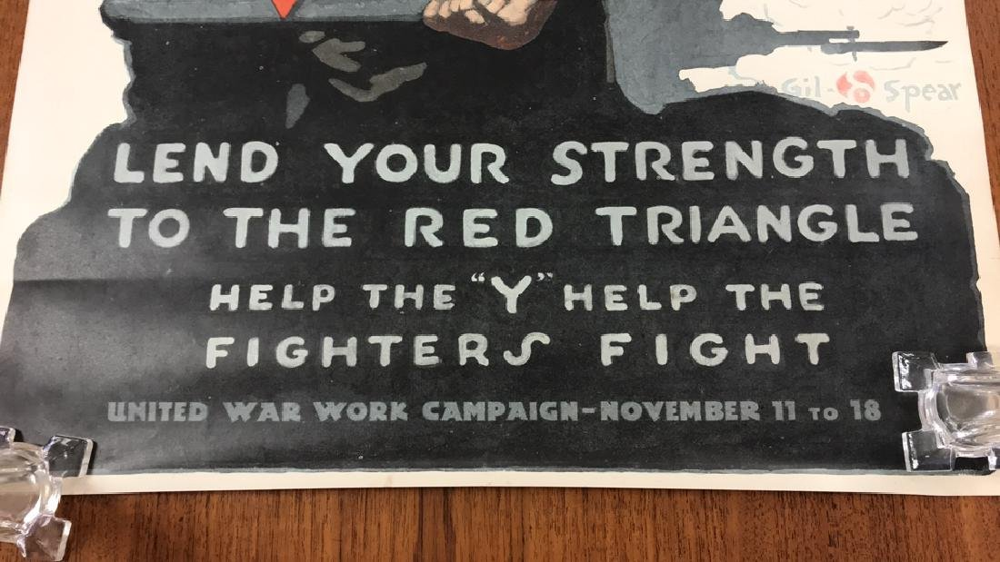 YMCA WORLD WAR I POSTER - 4