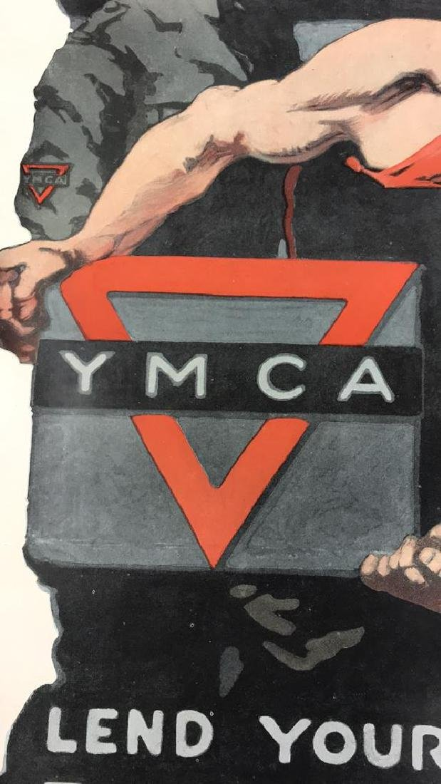 YMCA WORLD WAR I POSTER - 5