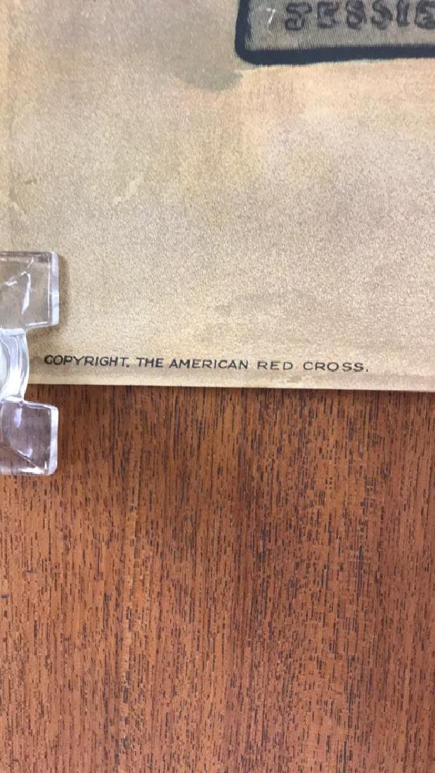 RED CROSS WORLD WAR I POSTER - 4