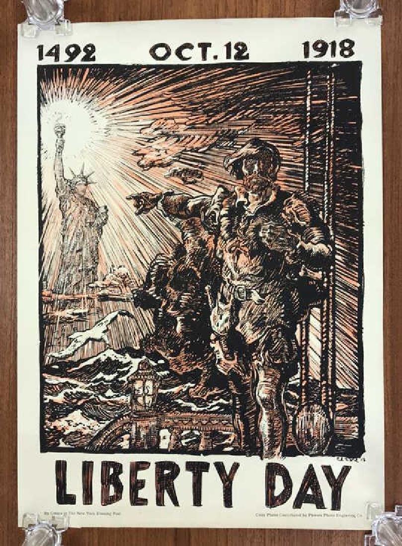 LIBERTY DAY WORLD WAR I POSTER
