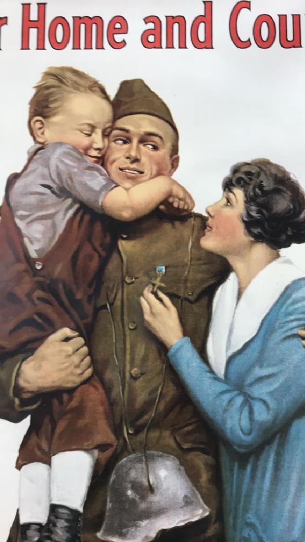 LIBERTY LOAN WORLD WAR I POSTER - 7