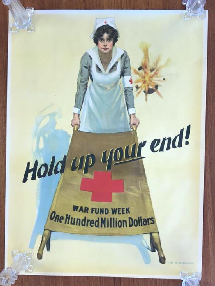 WAR FUND WEEK WORLD WAR I POSTER