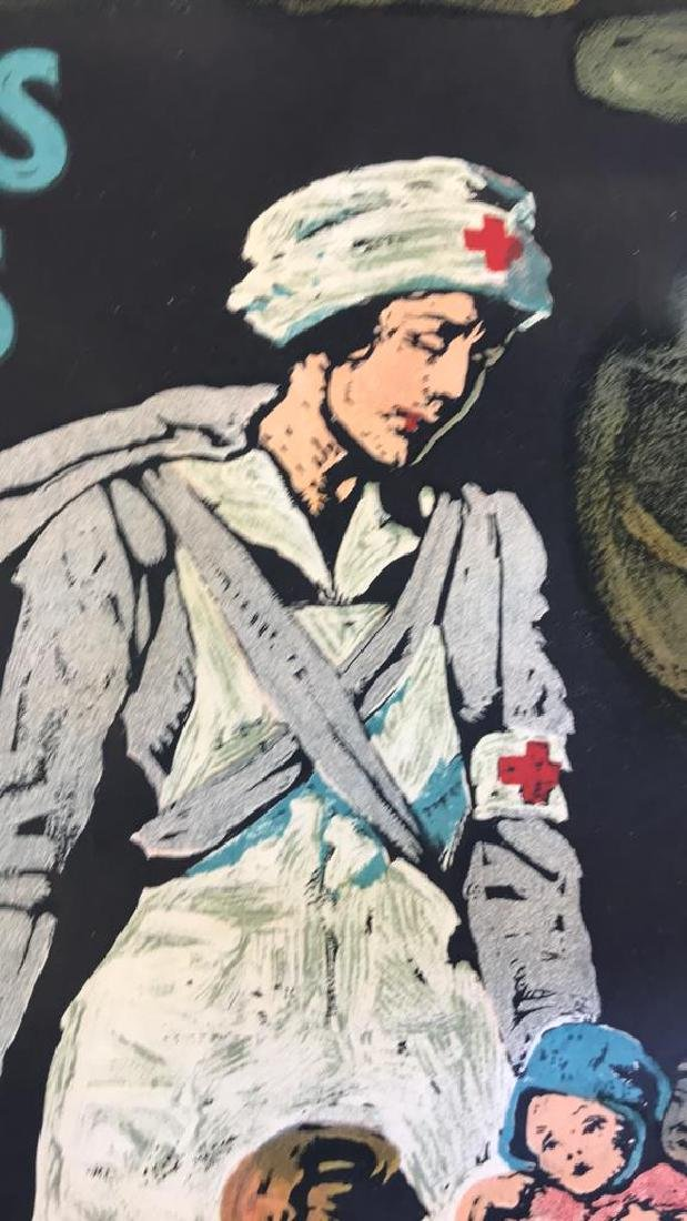 RED CROSS WORLD WAR I POSTER - 10