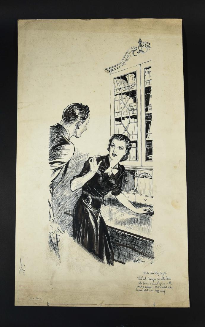 JOHN A. HAELEN (AMERICAN 1920/30S) ILLUSTRATION 2