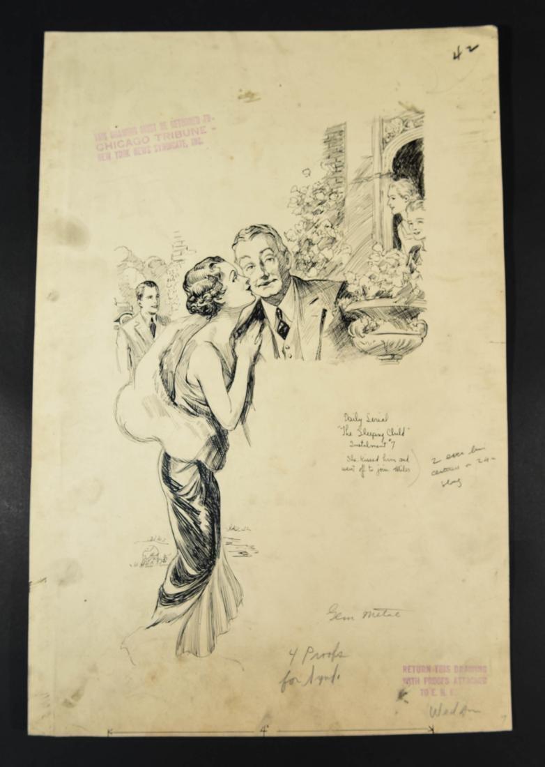 JOHN A. HAELEN (AMERICAN 1920/30S) ILLUSTRATION 15