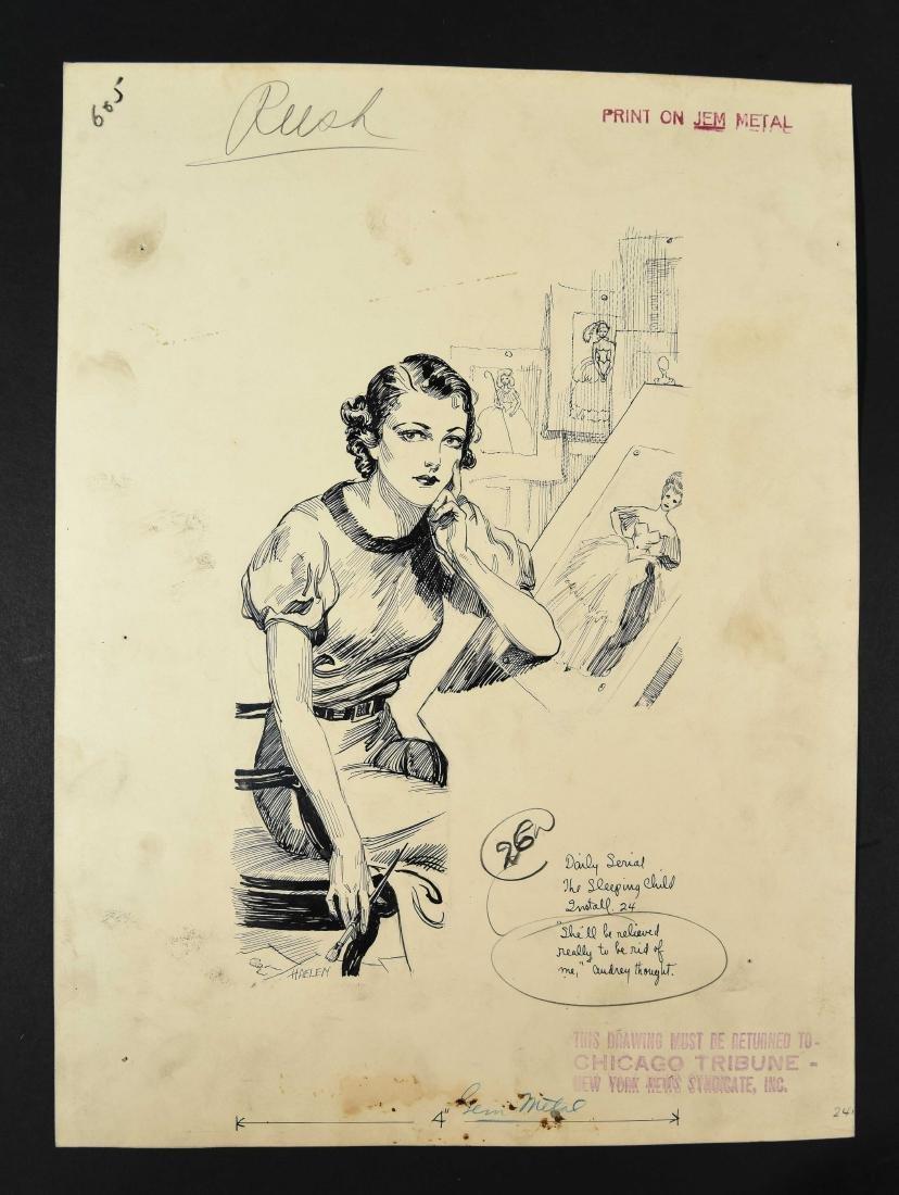 JOHN A. HAELEN (AMERICAN 1920/30S) ILLUSTRATION 23