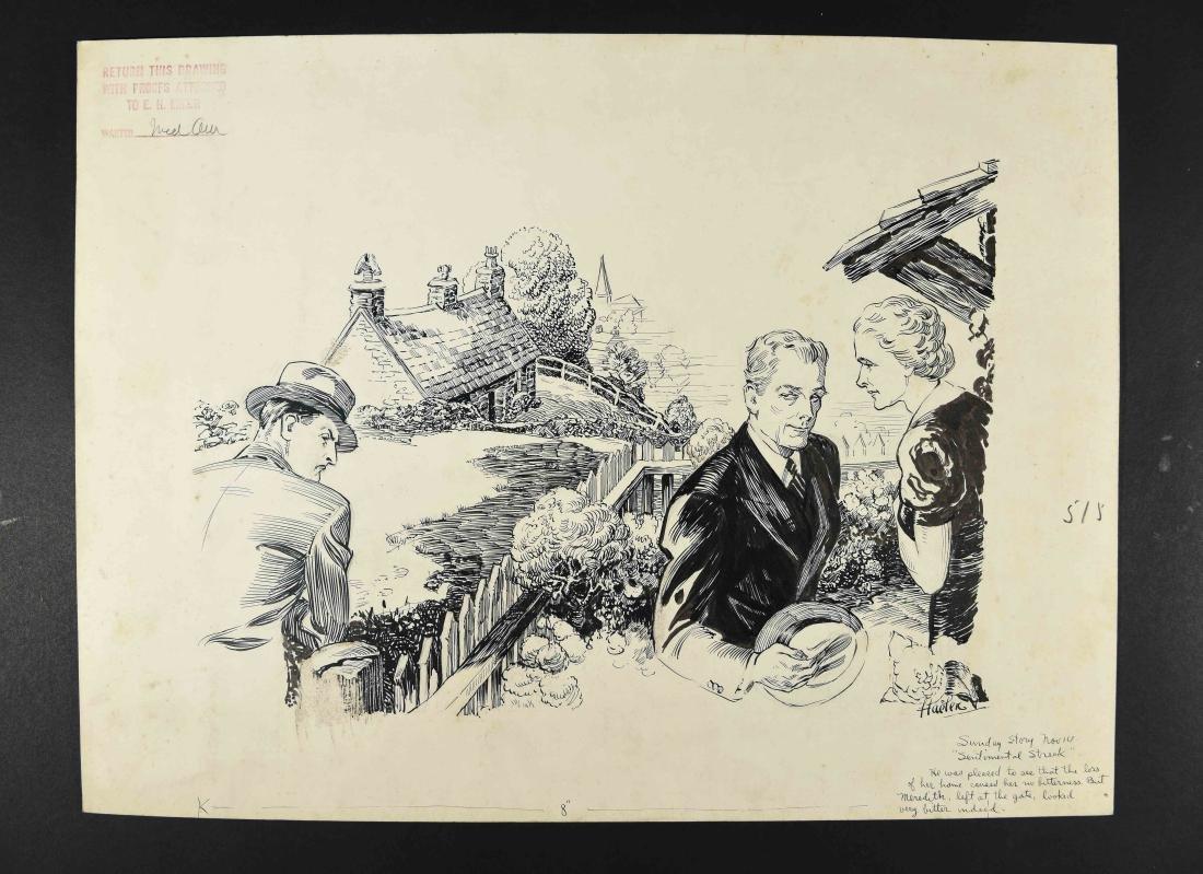 JOHN A. HAELEN (AMERICAN 1920/30S) ILLUSTRATION 18