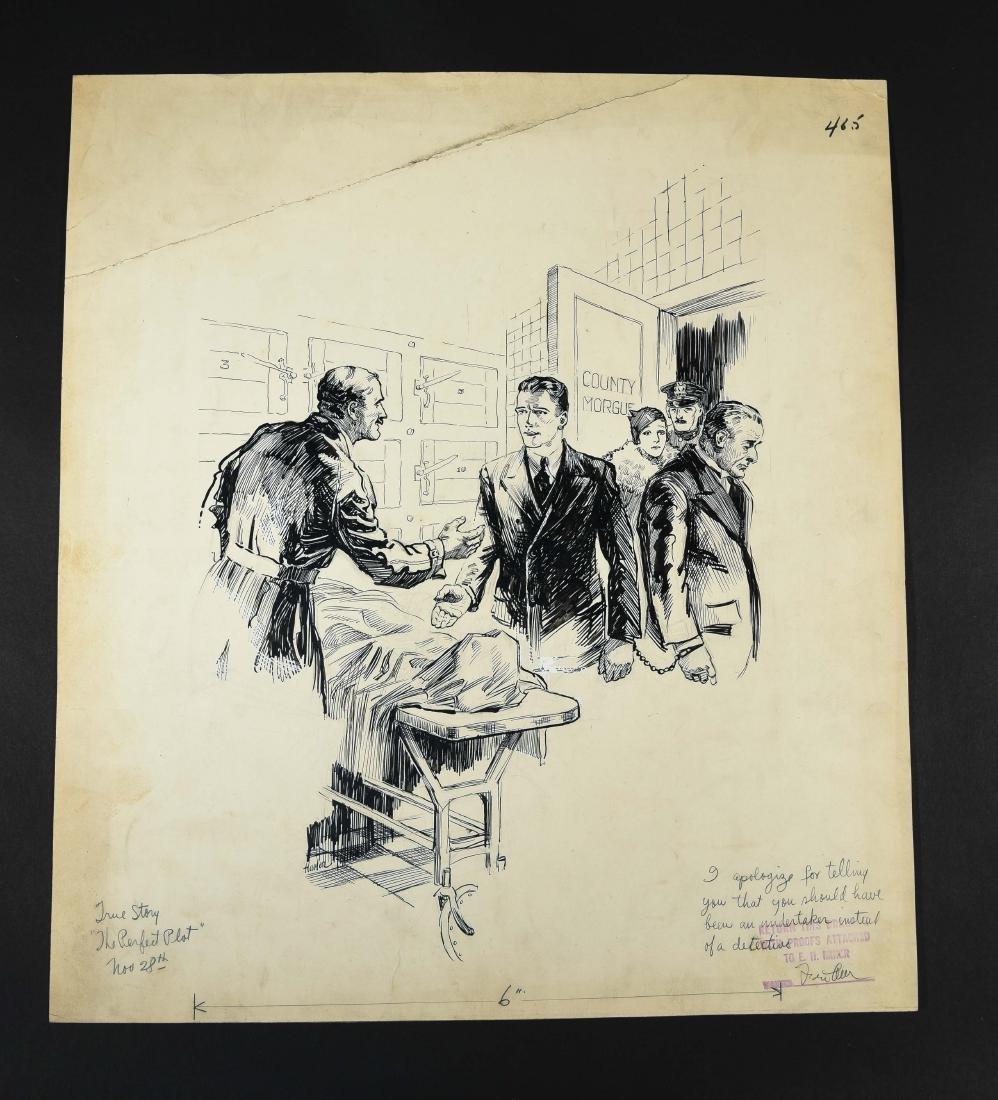 JOHN A. HAELEN (AMERICAN 1920S/30S) ILLUSTRATION 4