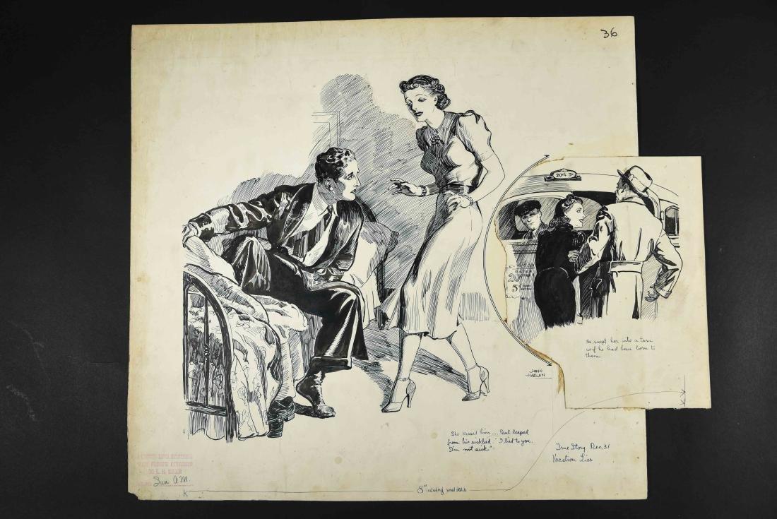 JOHN A. HAELEN (AMERICAN 1920/30S) ILLUSTRATION 3