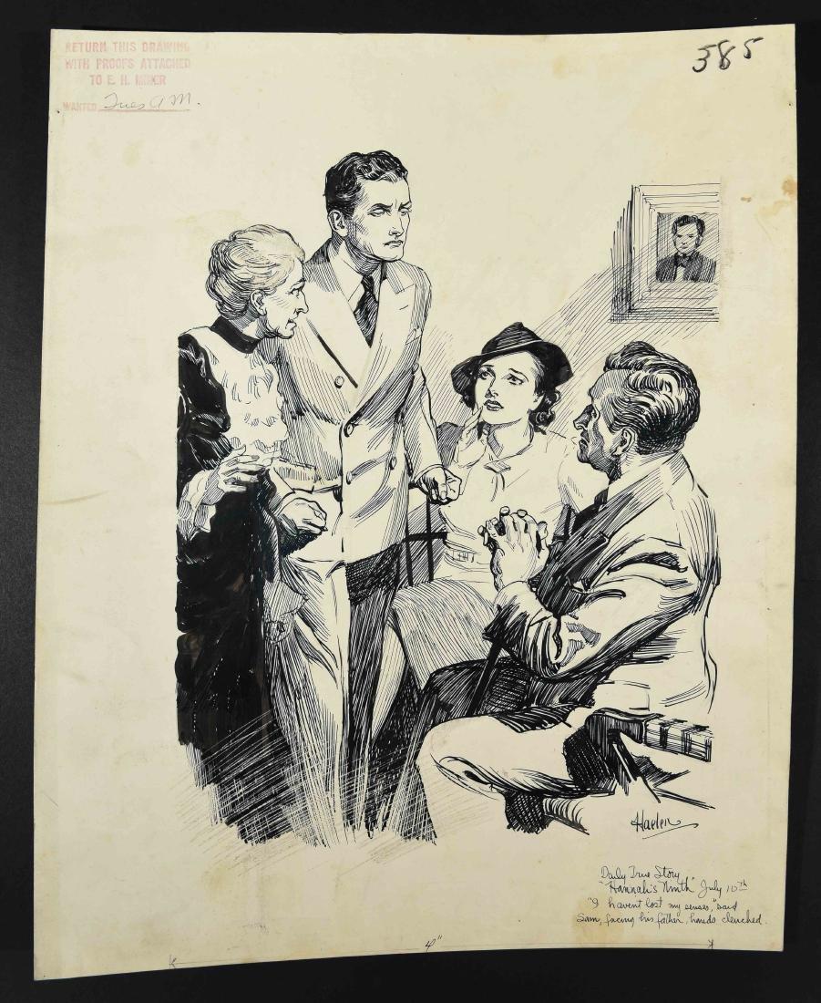 JOHN A. HAELEN (AMERICAN 1920/30S) ILLUSTRATION 13