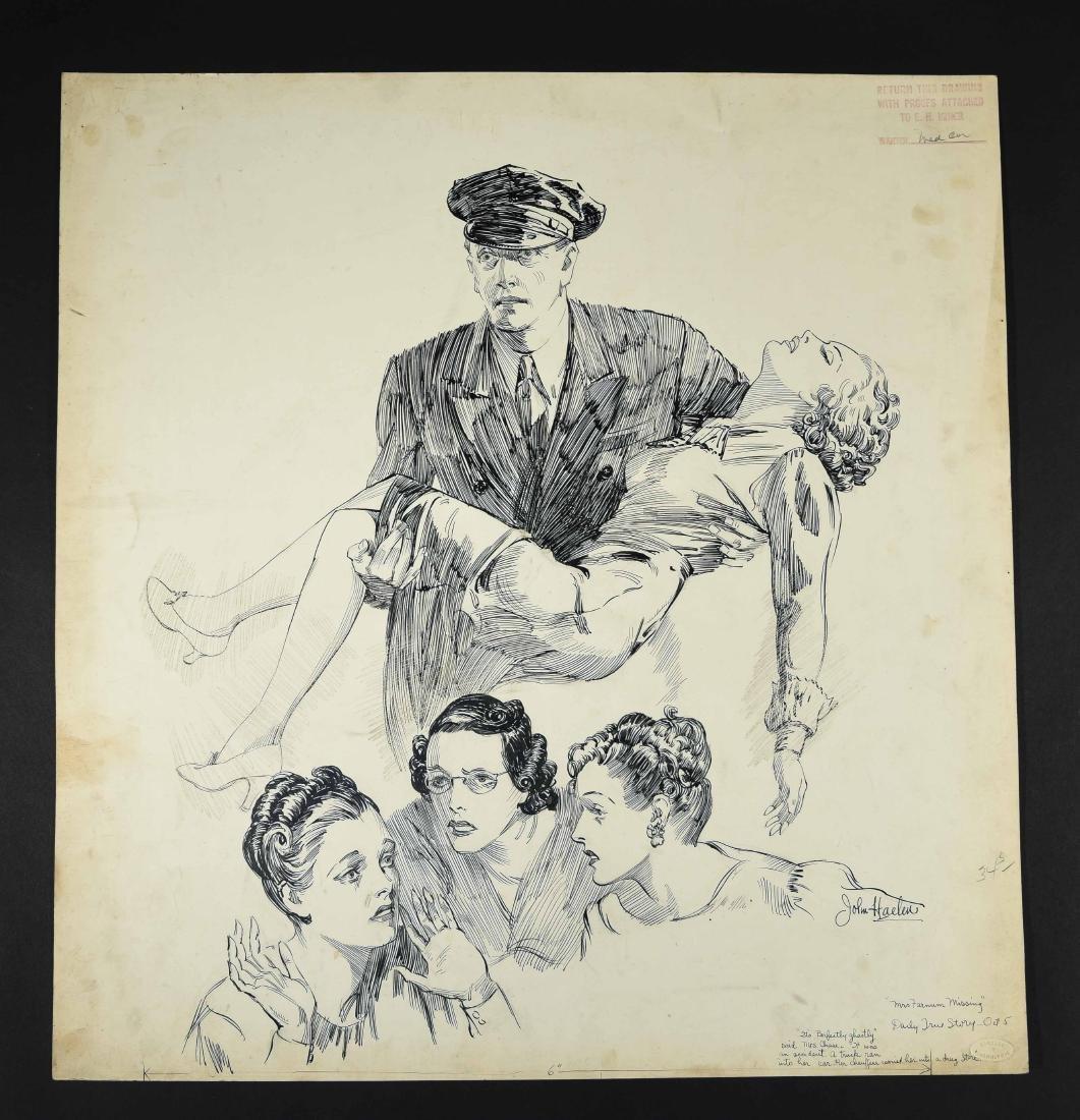 JOHN A. HAELEN (AMERICAN 1920S/30S) ILLUSTRATION 6