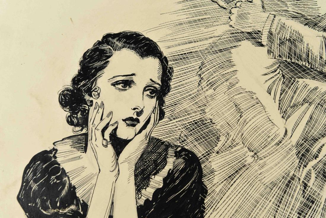 JOHN A. HAELEN (AMERICAN 1920/30S) ILLUSTRATION 20 - 5