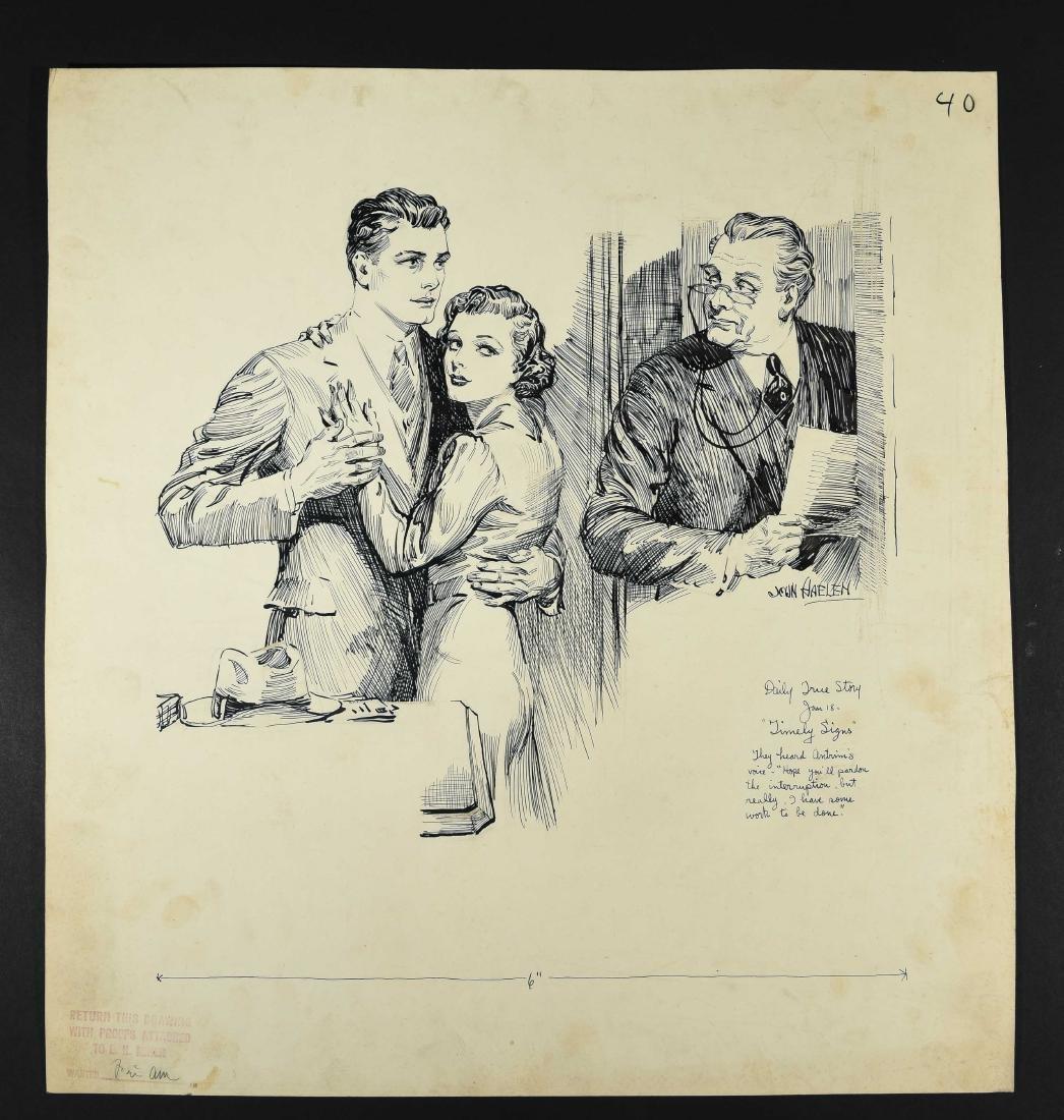 JOHN A. HAELEN (AMERICAN 1920S/30S) ILLUSTRATION 9