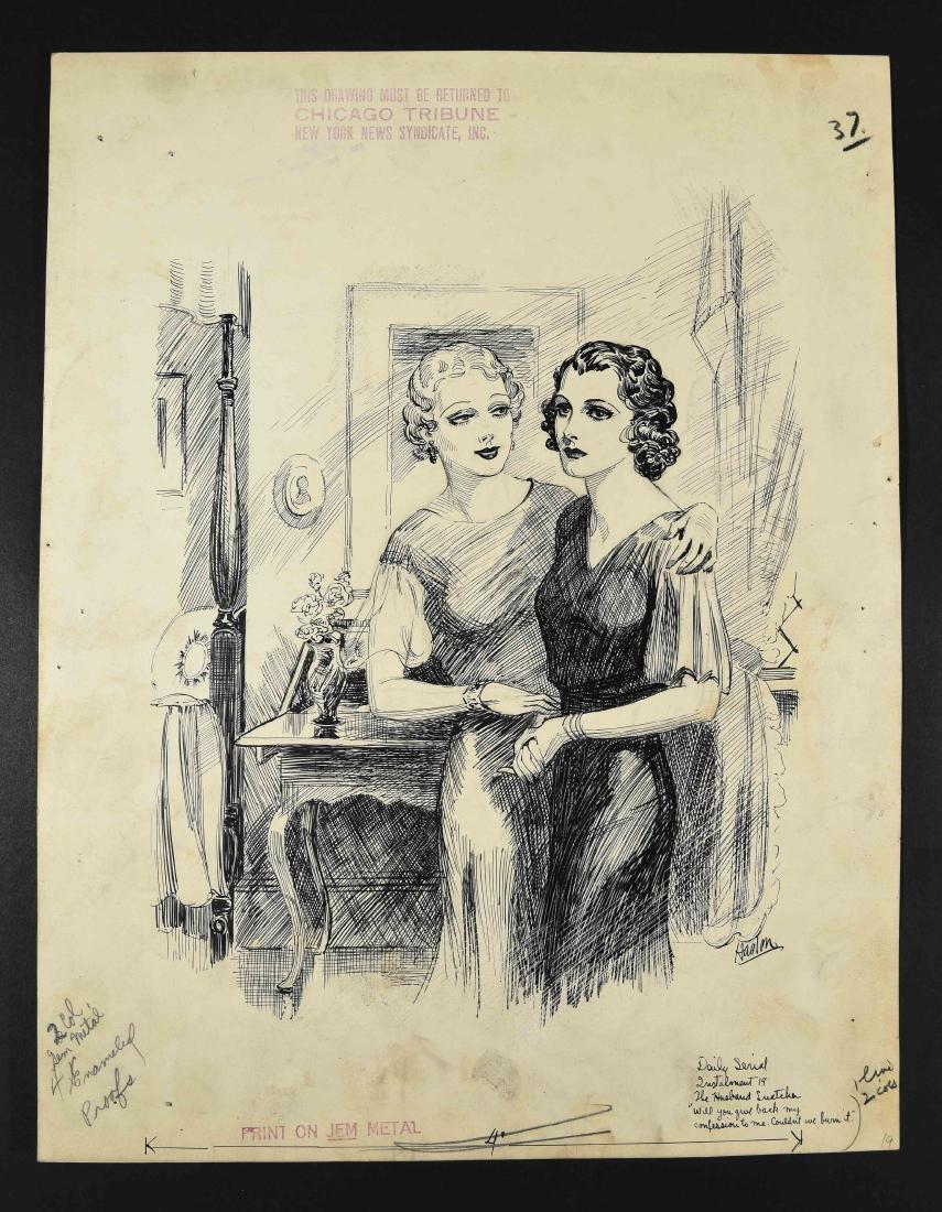 JOHN A. HAELEN (AMERICAN 1920/30S) ILLUSTRATION 16