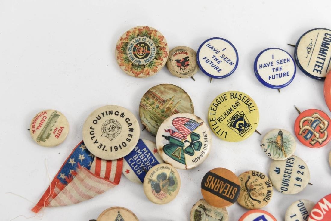 VINTAGE COLLECTABLE PIN BACK BUTTONS - 2