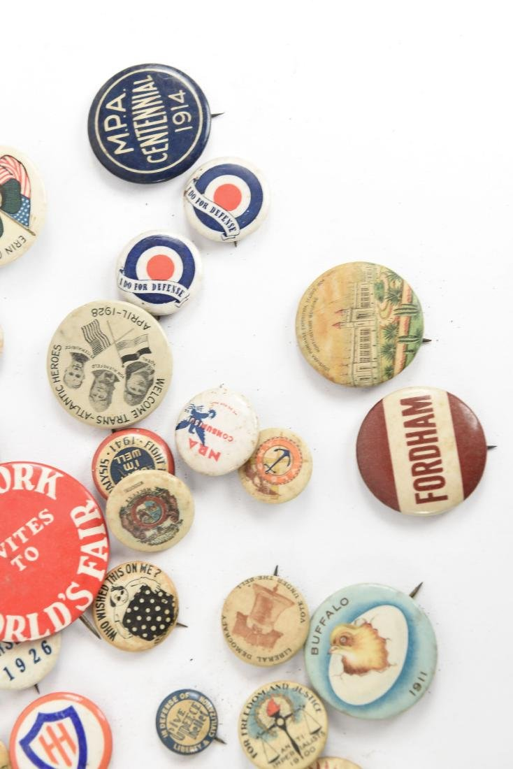 VINTAGE COLLECTABLE PIN BACK BUTTONS - 5