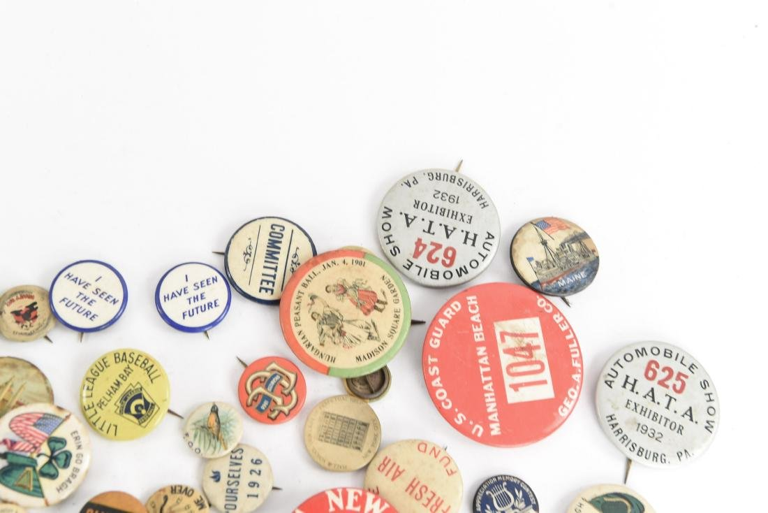 VINTAGE COLLECTABLE PIN BACK BUTTONS - 7