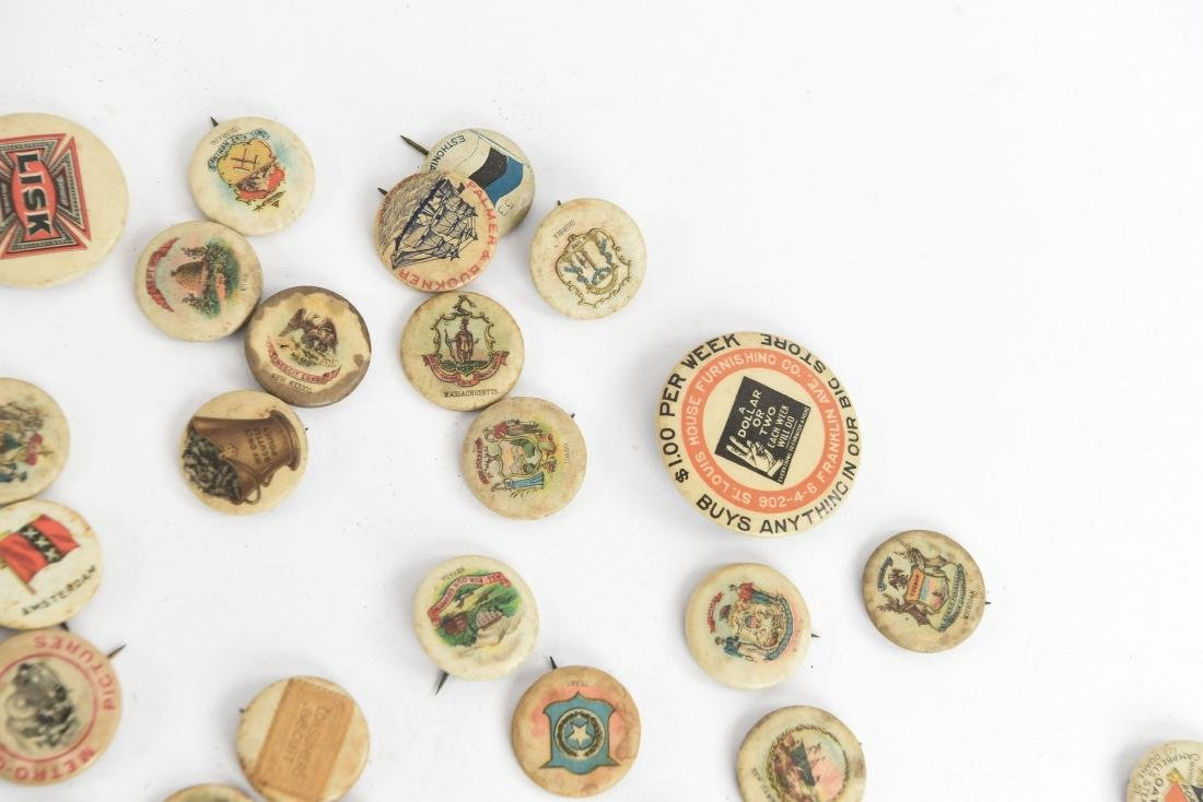VINTAGE COLLECTABLE PIN BACK BUTTONS - 3