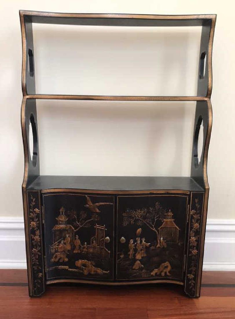 CHELSEA HOUSE CHINOISERIE FLOATING CABINET
