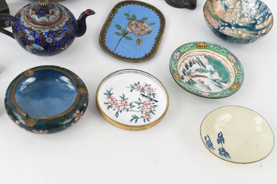CHINESE & JAPANESE METALWARE GROUPING - 6