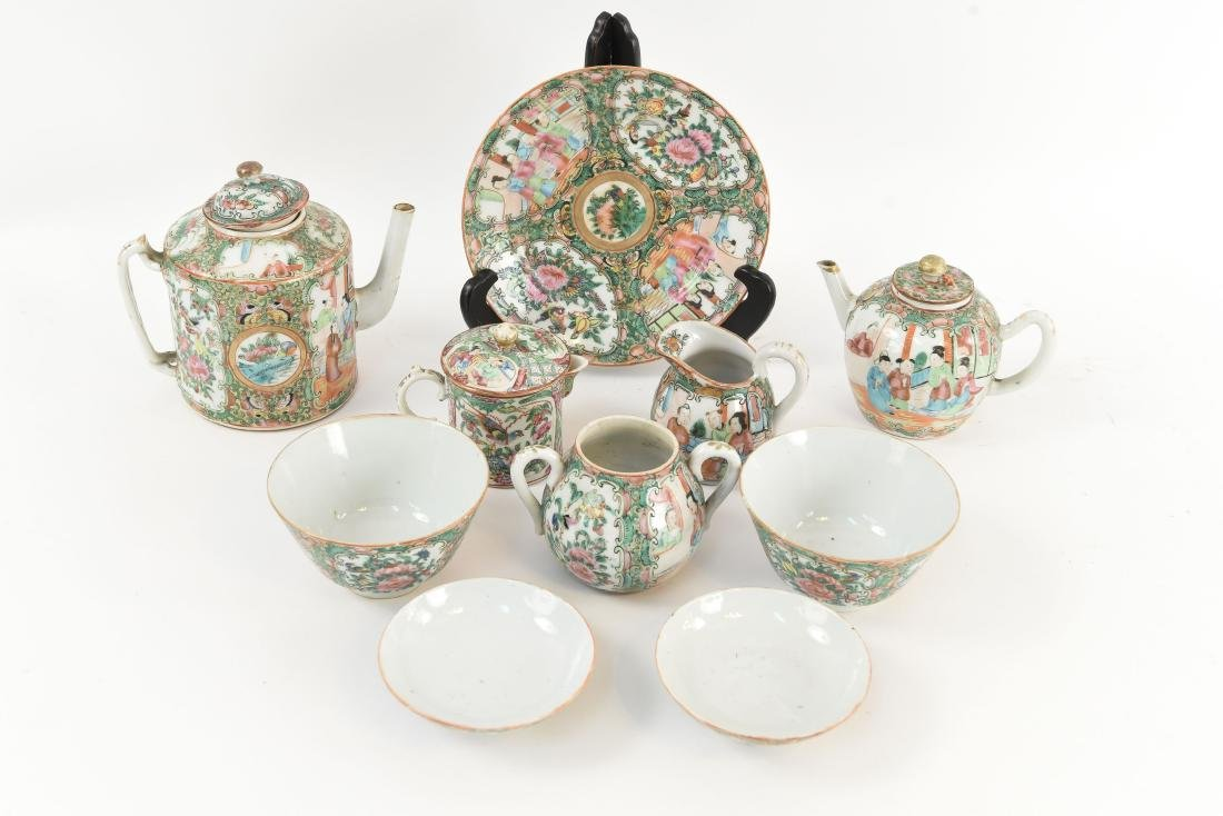 CHINESE EXPORT TEA SERVICE