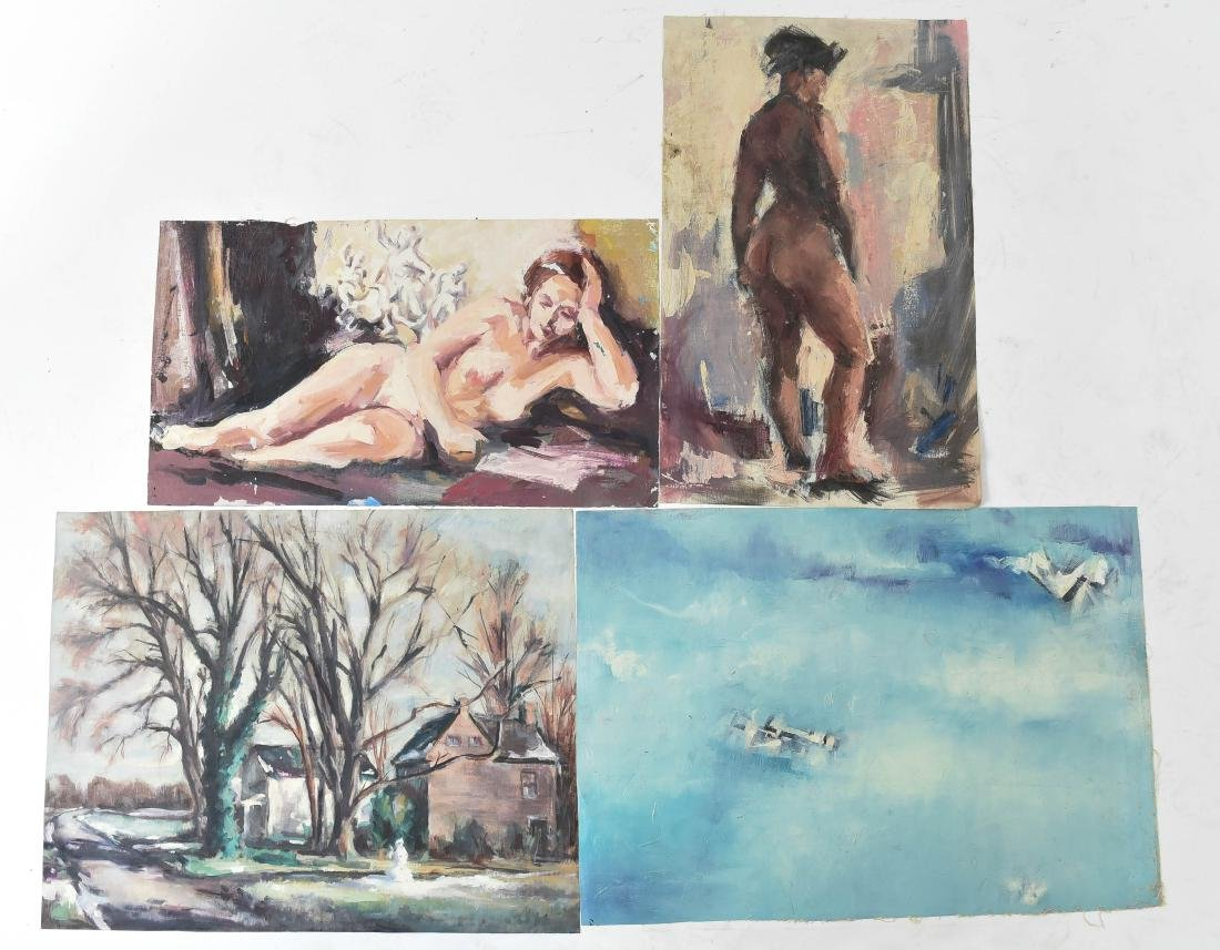 GROUPING OF OIL ON CANVASES