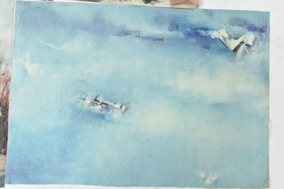 GROUPING OF OIL ON CANVASES - 3