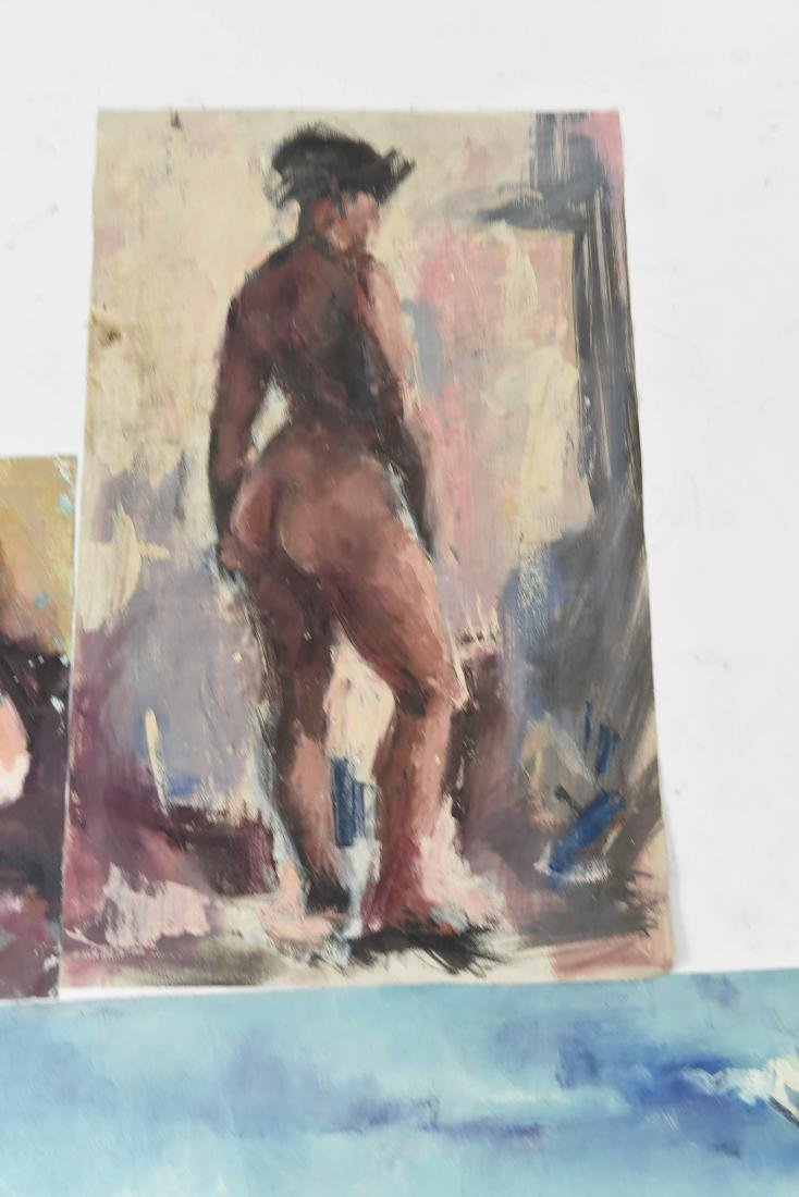 GROUPING OF OIL ON CANVASES - 5