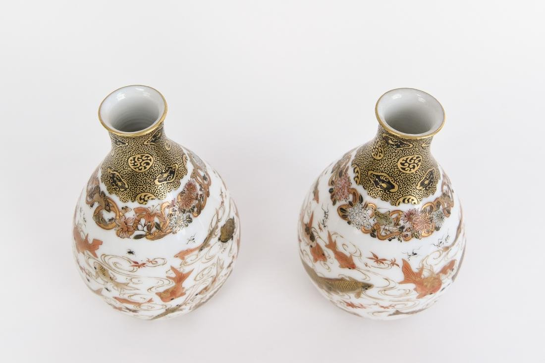 PAIR OF CHINESE VASES - 6